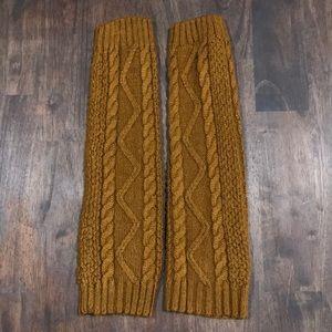 Knit Leg Warmers•